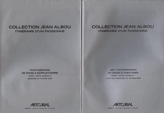 COLLECTION JEAN ALBOU, ITINÉRAIRE D'UN PASSIONNÉ - copertina