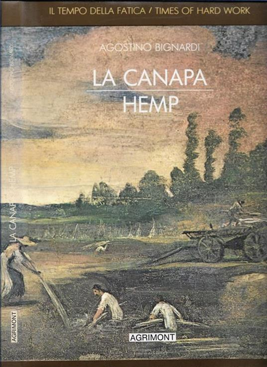 La canapa - Agostino Bignardi - copertina