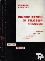 Cinque profili di filosofi francesi
