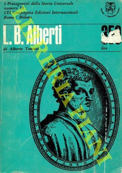 L.B. Alberti. Pio Ii - Alberto Tenenti - copertina