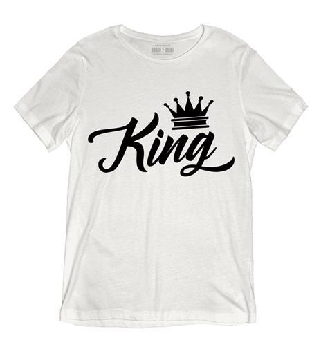 T-Shirt Uomo Bianca Tee131 Tg Xxl King