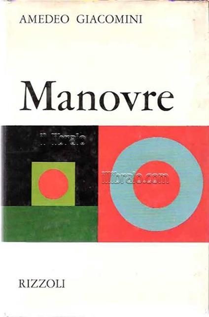 Manovre - Amedeo Giacomini - copertina