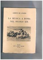 La musica a Roma nel secolo XIX