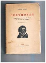Beethoven. Catalogo storico-critico di tutte le opere (terza edizione aumentata)