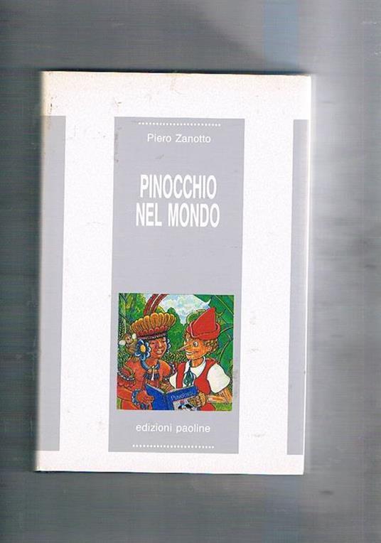Pinocchio nel mondo - Piero Zanotto - copertina