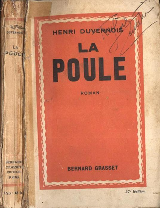 La poule - Henri Duvernois - copertina