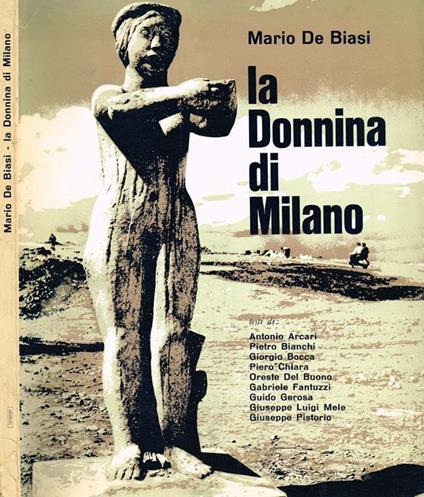 La Donnina di Milano - Mario De Biasi - copertina