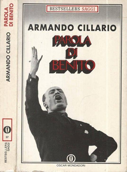Parola di Benito - Armando Cillario - copertina