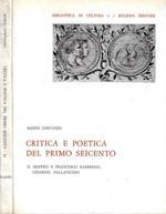 Critica e poetica del primo Seicento vol. II - Maffeo e Francesco Barberini, Cesarini, Pallavicino