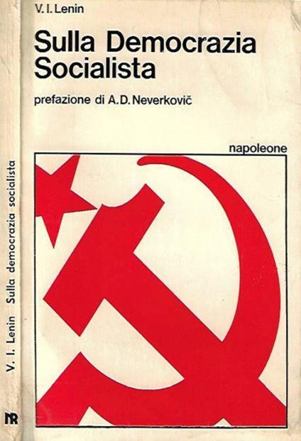 Sulla Democrazia Socialista - Lenin - copertina