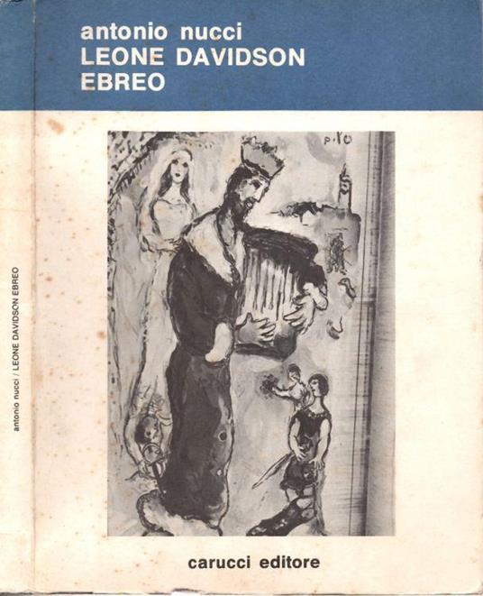 Leone Davidson ebreo - Antonio Nucci - copertina