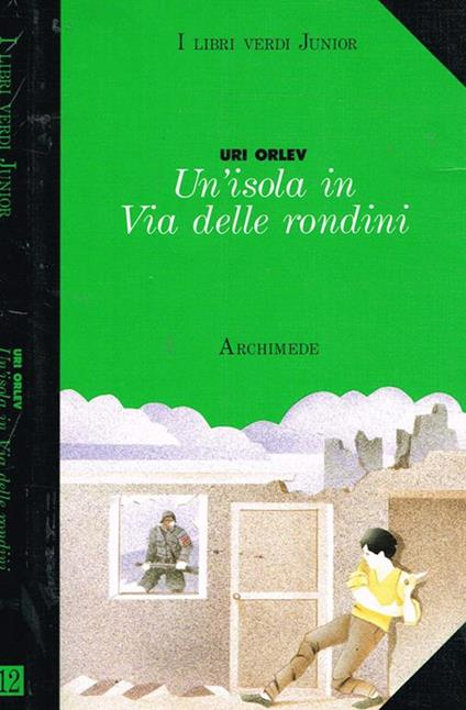 Un'isola in Via delle rondini - Uri Orlev - copertina