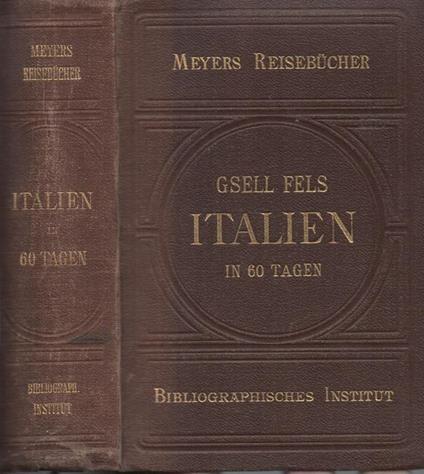 Italien. Traveller's Handbook - Meyers Reisebucher - copertina