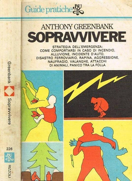 Sopravvivere - Anthony Greenbank - copertina