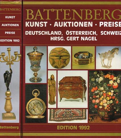 Battenberg. Kunst, Auktionen, Preise - Gert Nagel - copertina
