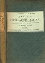 Manuale Della Letteratura Italiana Ad Uso Dei Licei Vol.I Parte Seconda