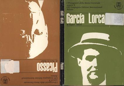 Garcia Lorca. Picasso - Rafael Alberti - copertina