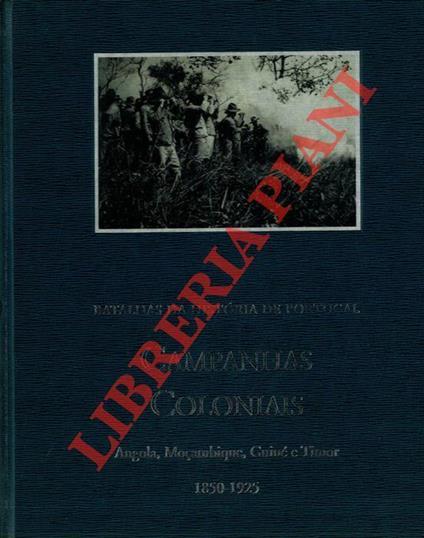 Campanhas Coloniais 1850-1925 - Antonio Ventura - copertina