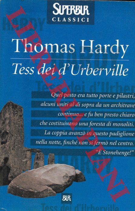 Tess dei d'Uberville - Thomas Hardy - copertina