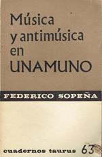 Musica y antimusica en Unamuno