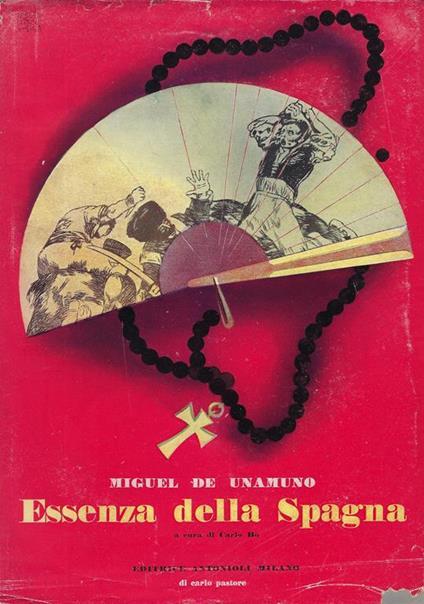 Essenza della Spagna - Miguel de Unamuno - copertina