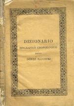 Dizionario biografico cronologico diviso per classi degli uomini illustri vol.III. Donne illustri