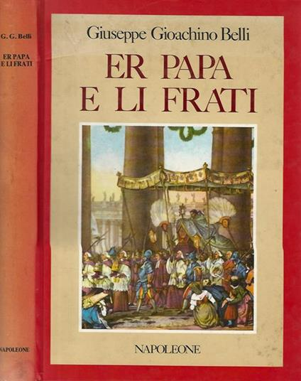 Er papa e li frati - Gioachino Belli - copertina