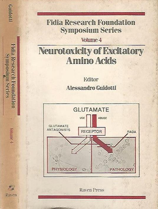 Neurotoxicity of Excitatory Amino Acids - Alessandro Guidotti - copertina