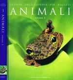 Grande enciclopedia per ragazzi vol.1. Animali