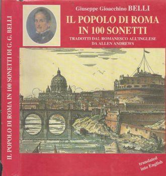 Il popolo di Roma in 100 sonetti - The people of Rome in 100 sonnets - Gioachino Belli - copertina