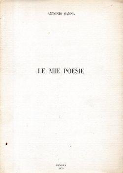 Le mie poesie - Antonio Sanna - copertina