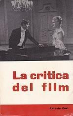La critica del film - Antonio Covi - copertina