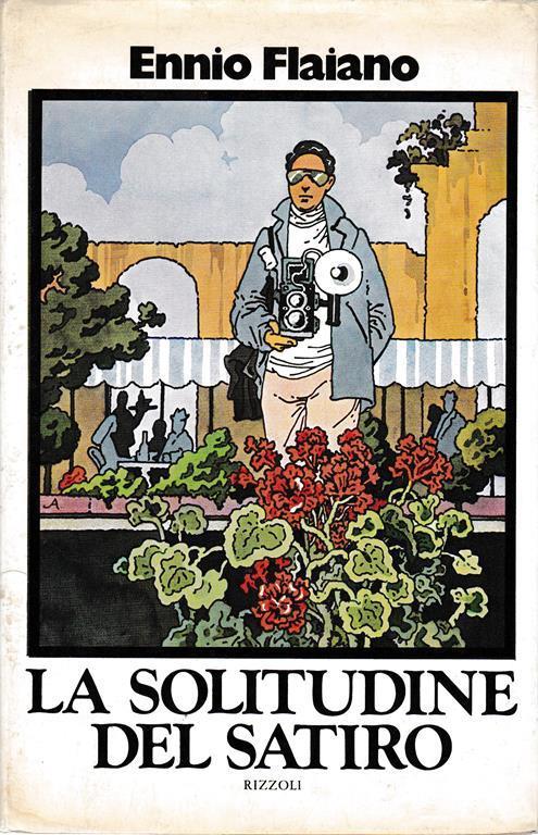 solitudine del satiro - Ennio Flaiano - copertina