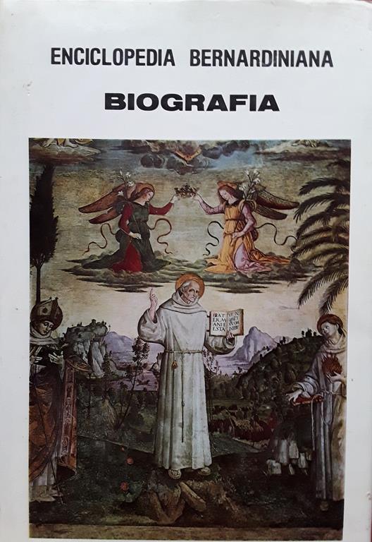 Enciclopedia bernardiniana. Vol. IV: Biografia - Silvio Aloisi - copertina