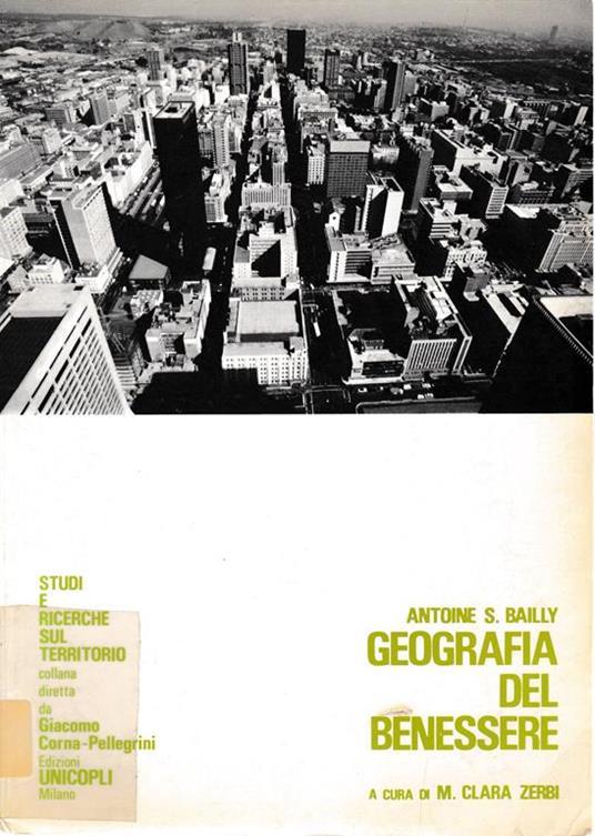 Geografia del benessere - Antoine Bailly - copertina