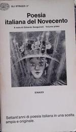 Poesia italiana del novecento, vol. 1