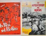 Film selezione 1959-1959. La pica sul Pacifico, Caligola, Gli avventurieri del Mekong, La trappola si chiude, Scacco alla morte, Il tesoro degli Aztechi, Pistola nuda e Viaggio nell'interspazio