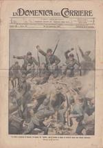 La Domenica del Corriere. Anno XIX, n. 37, 16-23 settembre 1917. Fronte: La lotta a nord-est di Gorizia. Un nembo di