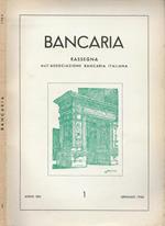 Bancaria-Rassegna dell'Associazione bancaria italiana, Anno XXII, 1, 1966