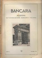 Bancaria-Rassegna dell'Associazione bancaria italiana, Anno X, 12, 1954