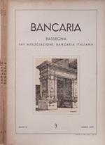 Bancaria-Rassegna dell'Associazione bancaria italiana, Anno IX, 3,6, 1953