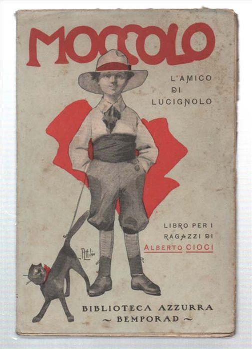 Moccolo, L'amico Di Lucignolo - Alberto Cioci - copertina
