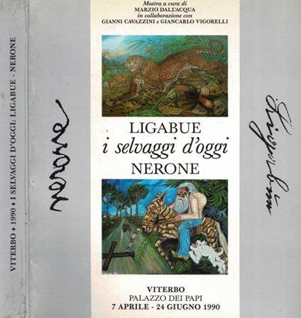 Ligabue - I selvaggi d'oggi - Nerone - Marzio Dall'Acqua - copertina