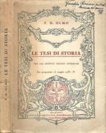 Le tesi di Storia di: F.D.Olmo