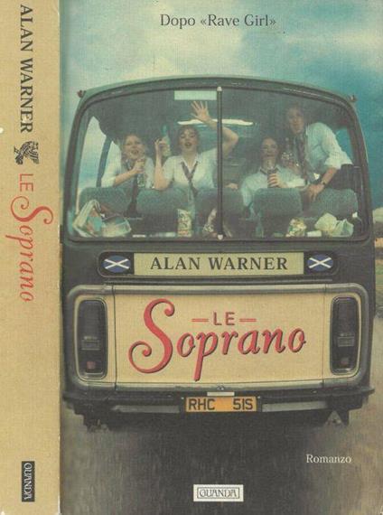 Le Soprano - Alan Warner - copertina