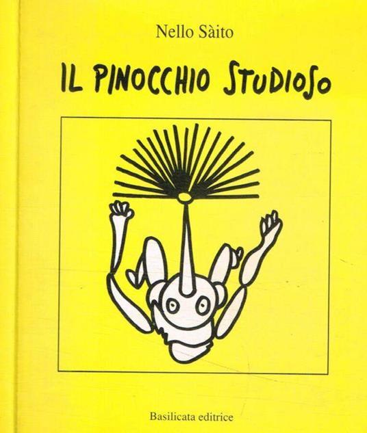 Il pinocchio studioso - Nello Saito - copertina