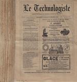 Le technologiste XXXVIII III série (annata completa 1878) di: Louis Lockert, redacteur en chef