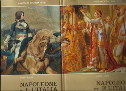 Napoleone e l'Italia (2 volumi) - André Fugier - copertina