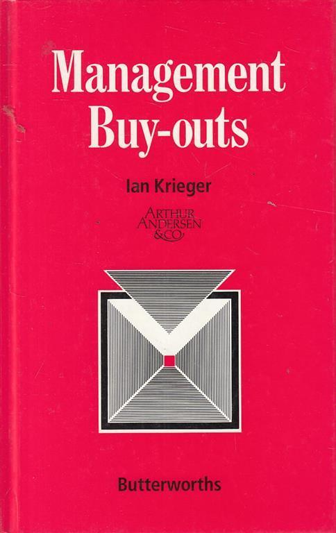 Management Buy Outs In English di: Ian Krieger - copertina