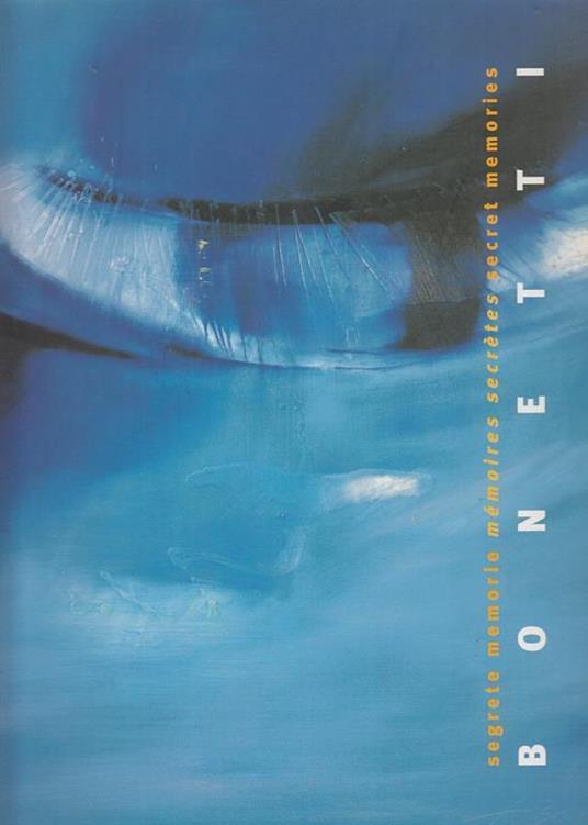 Bonetti Segrete Memorie - copertina